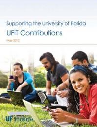 2011-2012 Contributions Report Cover