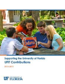 2012-2013 UFIT Contributions Report Cover