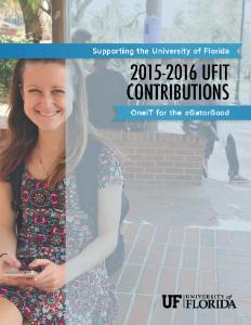 2015-2016 UFIT Contributions cover image